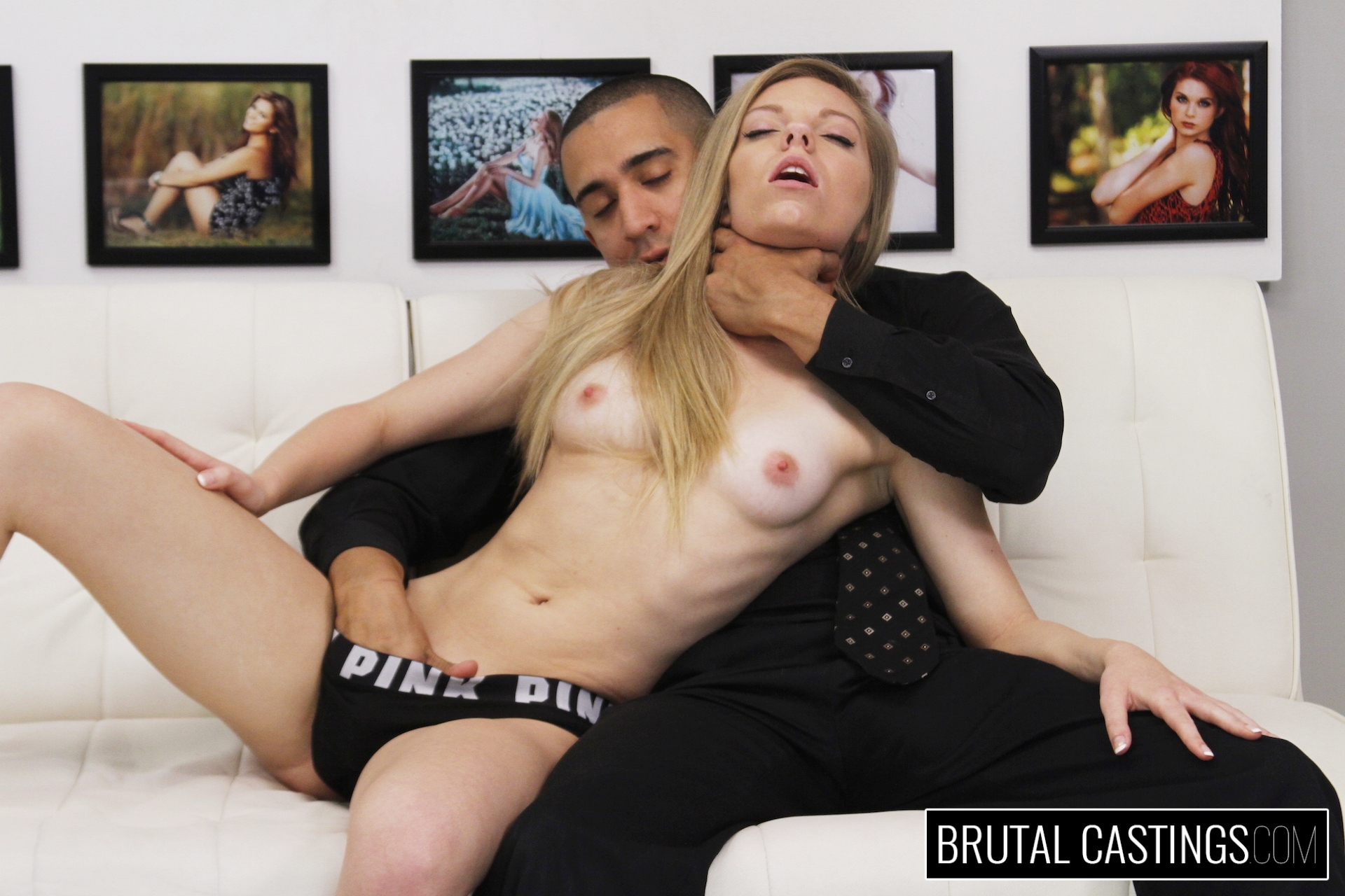 Intense anal in bondage gaping and spanking casey calvert